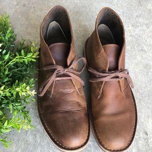 Clark's Bushacre Chukka Boot Dark Brown